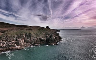 best-drone-uk-cornwall-rinsey-clouds-sunset